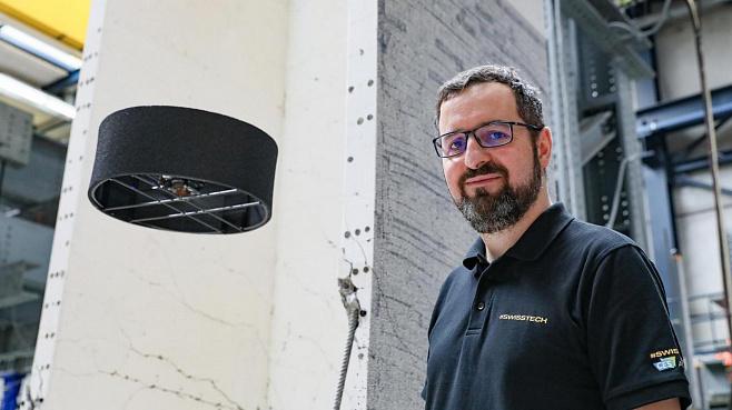Летающий дрон-тарелка Flybotix: дольше, выше, сильнее!